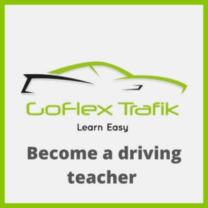 Become a driving teacher Goflex trafik